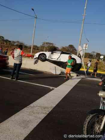 Accidente de tránsito en la vía Malambo – Caracolí - Diario La Libertad