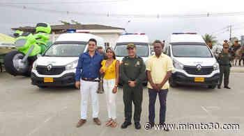 ¡Qué lujo! Policía de Carepa y Chigorodó recibió tres camionetas nuevas para mejorar el control vial - Minuto30.com
