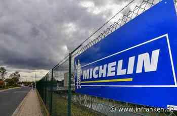 Michelin-Werk Hallstadt schließt 2021: Mitarbeiter protestieren vor den Werkstoren - inFranken.de