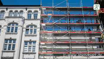 Wohnungswirtschaft: Private Unternehmen stellen weniger Wohnungen fertig
