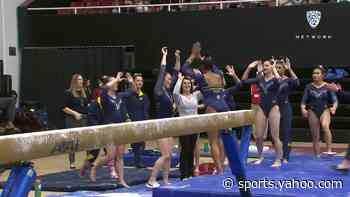 Cal's beam lineup boosting program to ranked wins in Pac-12 competition - Yahoo Sports