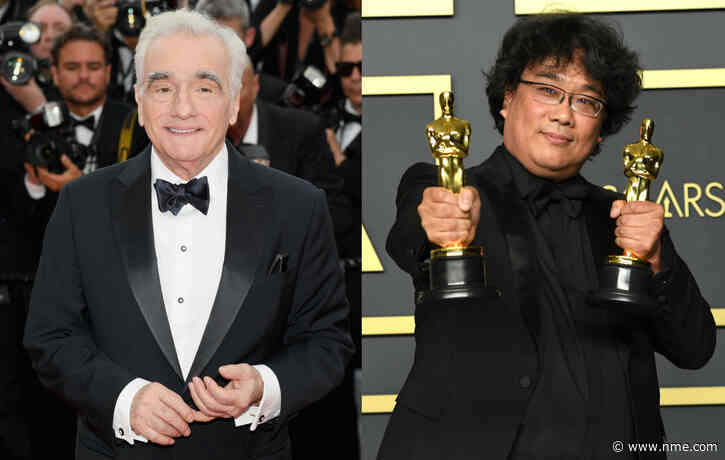 "Martin Scorsese wrote a heartfelt letter to Bong Joon-ho after 'Parasite""s Oscars success"