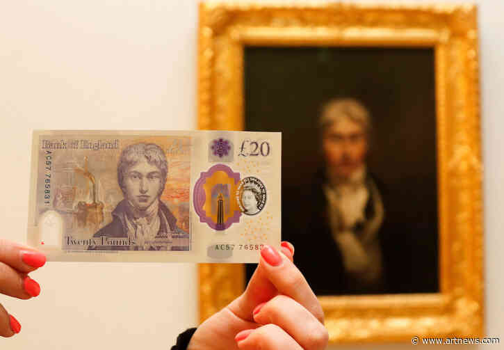 New £20 Note Featuring J. M. W. Turner Portrait Begins Circulating inU.K.