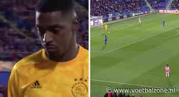 VIDEO - Bruno Varela zaait met geklungel paniek bij Ajax