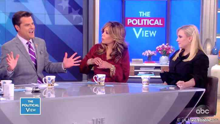 'Oh Come On!': Matt Gaetz Embarrasses Himself on 'The View'