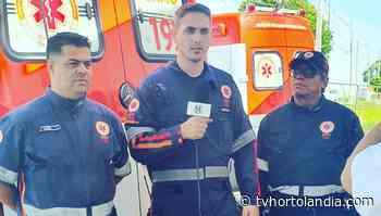 TV Hortolandia exibirá rotina diária do SAMU em Hortolândia - Waldir Junior