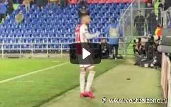 VIDEO - Woedende Hakim Ziyech roept Ajax-fans tot de orde