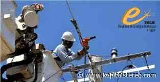 Enelar fortalece la infraestructura eléctrica e Puerto Jordán. Instalación de postería en el sector la libertad beneficiará cerca de 150 familias. - Kapital Stereo