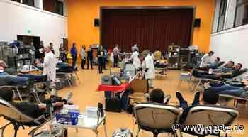 Blutspendetermin in Vilseck sehr gut besucht - Onetz.de
