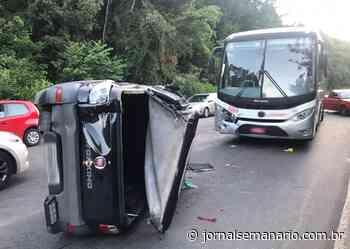 Acidente deixa uma pessoa ferida na ERS-446, em Carlos Barbosa - jornalsemanario.com.br