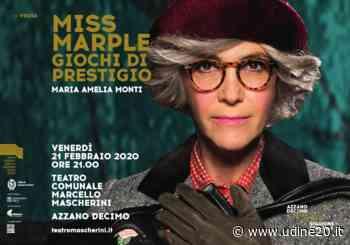 Miss Marple con Maria Amelia Monti venerdì 21 febbraio ad Azzano Decimo - Udine20