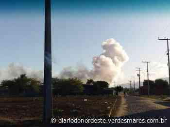 Galpão de fogos explode e uma pessoa fica ferida em Itaitinga, na Região Metropolitana de Fortaleza - Diário do Nordeste