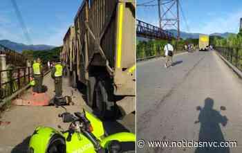 Accidente en el puente Guayabal deja un muerto - Noticias NVC
