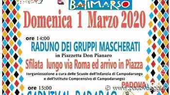 """Festa di carnevale e """"Bati Marso"""" a Campodarsego - PadovaOggi"""