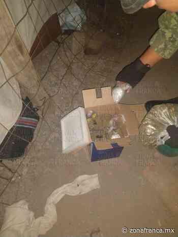 León: Tiran caja con enervantes en Vista Hermosa - Zona Franca