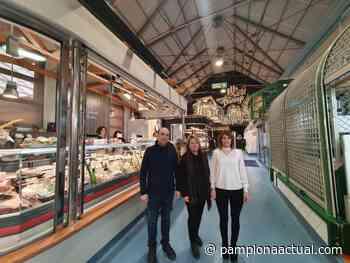 El Mercado de Santo Domingo, pionero en contar con un innovador sistema de calefacción por paneles radiantes, diseñado por ingenieros navarros - - Pamplona actual