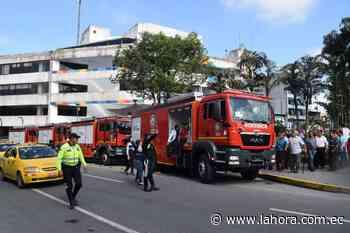 Bomberos renuevan flota vehicular : Noticias SANTO DOMINGO - La Hora (Ecuador)
