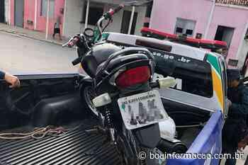 Moto roubada é recuperada em Pacatuba, Sergipe - Boa Informação