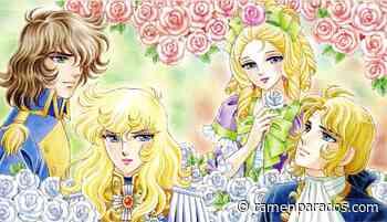 ECC Ediciones desvela la portada de La Rosa de Versalles - Ramen Para Dos