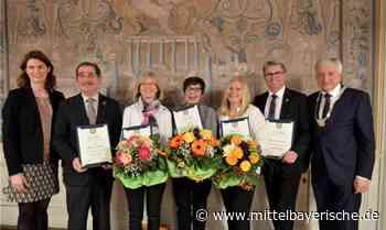 Alteglofsheim würdigt engagierte Bürger - Mittelbayerische