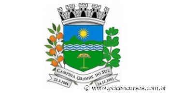 Processo Seletivo é anunciado pela Prefeitura de Campina Grande do Sul - PR - PCI Concursos