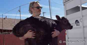 Joaquin Phoenix Rescued a Cow and Her Calf the Day After His Oscars Speech