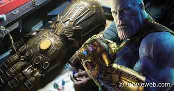 Thanos' Infinity Gauntlet Comes Together In Avengers: Infinity War Props Photo