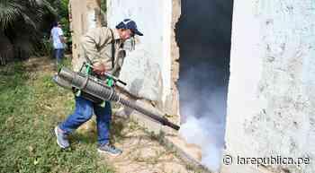 Lambayeque: culmina jornadas de fumigación contra el dengue en Zaña - LaRepública.pe