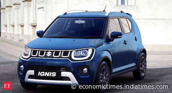 Maruti Suzuki launches new Ignis. Check pics, price, and features - Maruti Ignis 2020 priced at Rs 4.89 Lakhs - Economic Times