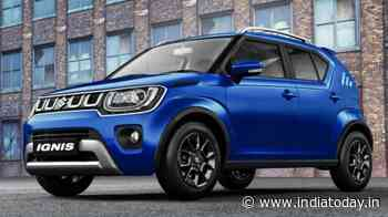 Maruti Suzuki Ignis 2020 launched, price starts at Rs 4.89 lakh - India Today