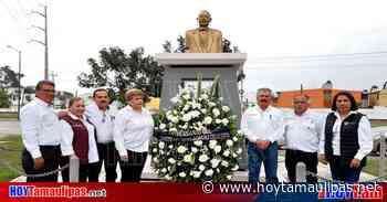 Ciudad Madero rinde homenaje al General Álvaro Obregón en su natalicio - Hoy Tamaulipas