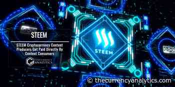 STEEM Cryptocurrency Content Producers Get Paid Directly By Content Consumers - The Cryptocurrency Analytics