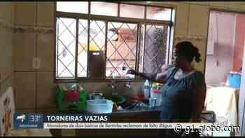 Moradores do bairro Vera Lúcia II em Barrinha, SP, reclamam de falta d'água recorrente - G1