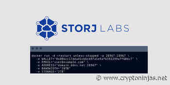 Decentralized storage solution Storj pays out $2 million to node operators - CryptoNinjas