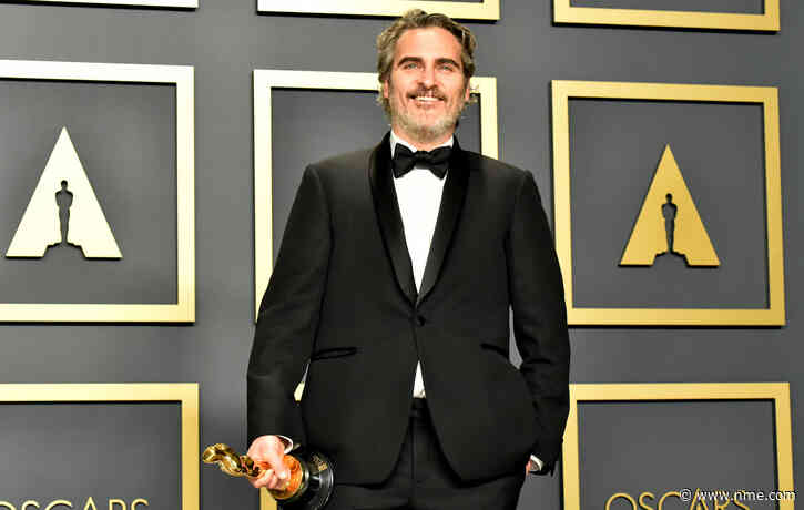 Watch Joaquin Phoenix rescue a cow and her calf two days after giving powerful Oscars speech