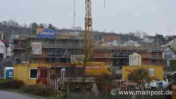 Arbeiten am Dorfzentrum in Heustreu gehen voran - Main-Post
