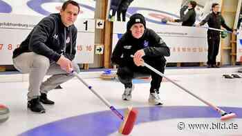 HSV und St. Pauli erwischen vorm Derby beim Curling ein 1:1 - BILD