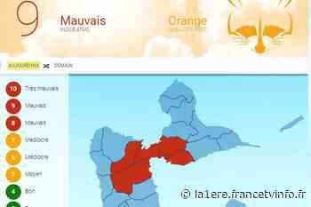 Alerte orange pour mauvaise qualité de l'air - Guadeloupe la 1ère - La 1ère
