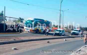 Se hacen pasar por pasajeros y asaltan autobús Vía en Acajete - El Sol de Puebla