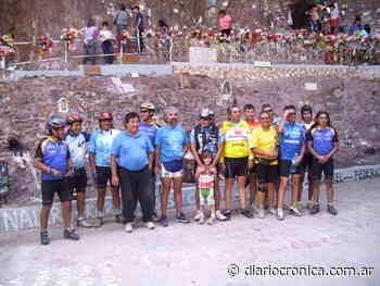 """Peregrinación ciclística a la """"Virgen de Lourdes"""" - Crónica Digital"""