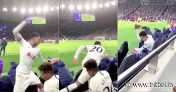 Mourinho sacó a Dele Alli y este explotó en el banco de suplentes - Bitbol