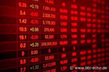 Krypto-Marktbericht: Bitcoin (-5%), EOS (-11%), Tezos (+11%) - BTC-ECHO