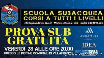 Prova sub gratuita alle piscine di Villafranca di Verona - Verona Sera