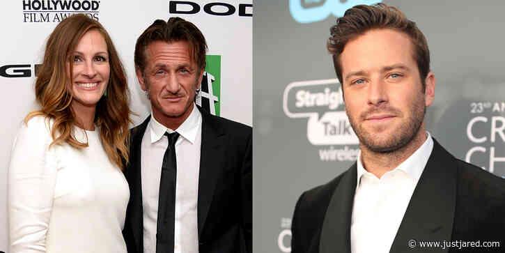 Julia Roberts, Sean Penn & Armie Hammer to Star in Watergate Series 'Gaslit'!