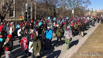 'A demonstration of unity': Striking Ontario teachers rally at Queen's Park