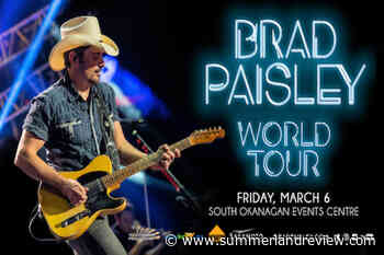 Brad Paisley breaks my achy heart - Summerland Review