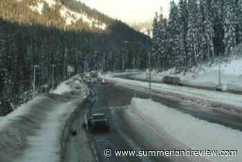 UPDATE: 'Chain reaction pile up' closes southbound traffic on Coquihalla Highway - Summerland Review