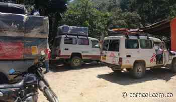 Se suspendió caravana humanitaria en el Catatumbo - Caracol Radio