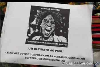 Unidade PSOL/Niteroi acaba de receber ameaças de atentado - DiárioPrime.com.br