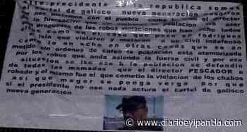 """Localizan """"narcomantas"""" contra Fuerza Civil entre Isla Y Cosamaloapan - Diario Eyipantla"""
